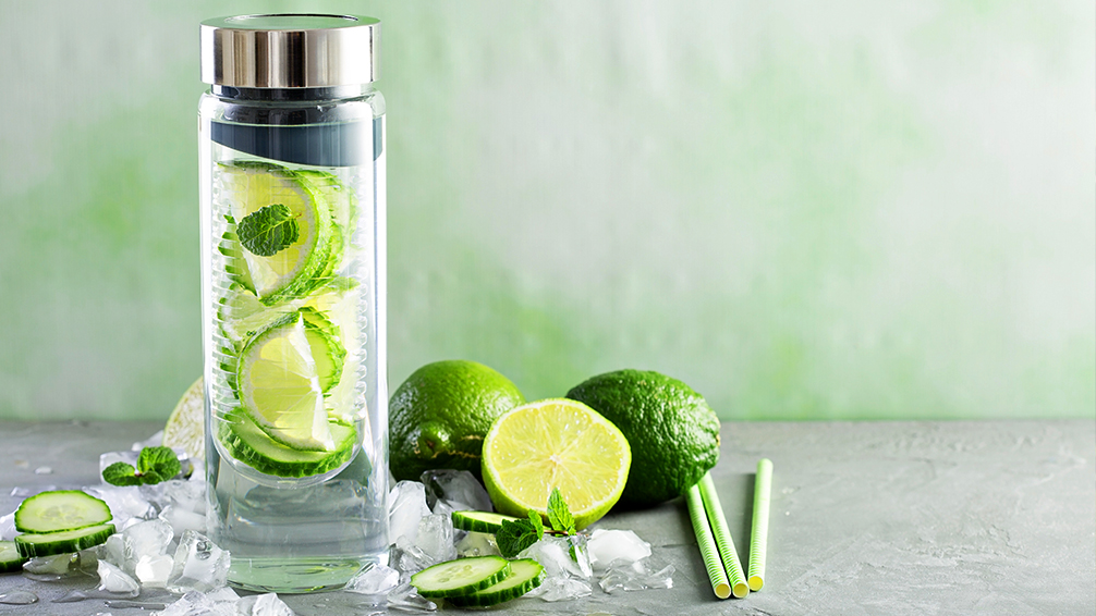 pfas-houston-summer-guide-cucumber-mint-water-bottle
